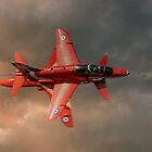 Red Arrows - Opposition Pass by © Steve H Clark Photography