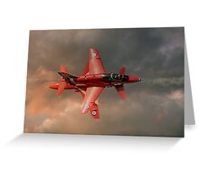 Red Arrows - Opposition Pass Greeting Card