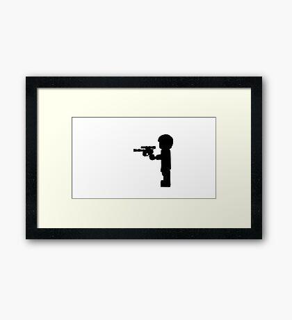 Solo, Han Solo Framed Print