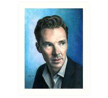 Benedict Cumberbatch. Art Print