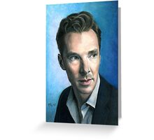 Benedict Cumberbatch. Greeting Card