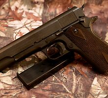 Colt 1911 Marine issue Korean Era by Jerry  Mumma