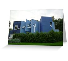A DRUNK ARCHITECT....... ONLY in Canada EH! Greeting Card
