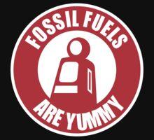 Fossil Fuels Are Yummy - car stricker, tshirt, stanced, slammed , V8 T-Shirt