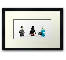 Vader Mk1 Framed Print