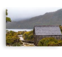 Dove Lake Boat Shed, Tasmania #2 Canvas Print