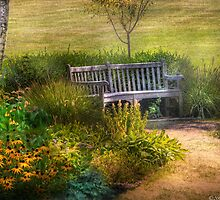 In the garden by Mike  Savad