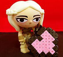 Mini Daenerys Valentine by FendekNaughton