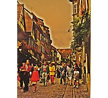 Alsace Village Photographic Print