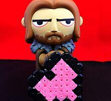 Ned Stark Valentine by FendekNaughton