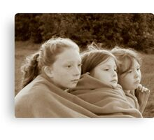 Sisters. Canvas Print