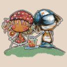 Jack and Jill TShirt by © Karin (Cassidy) Taylor