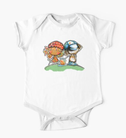 Jack and Jill TShirt One Piece - Short Sleeve