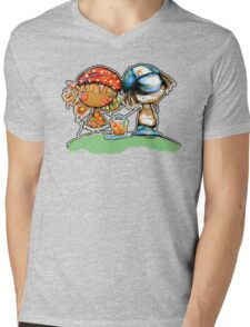 Jack and Jill TShirt Mens V-Neck T-Shirt