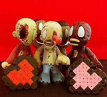Zombie Valentines by FendekNaughton