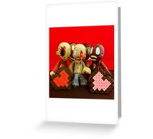 Zombie Valentines Greeting Card