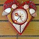 Ticking heartbeat by Arie Koene