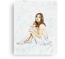 The Sheet Canvas Print