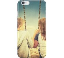 Just Hanging Out iPhone Case/Skin