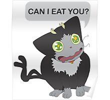 Random Black Gonna Eat You Poster