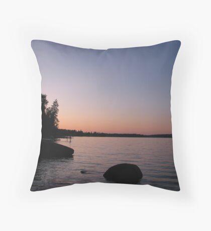 Caddy Lake Throw Pillow