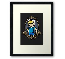 Zelda Time Framed Print