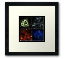 Elemental IV Framed Print