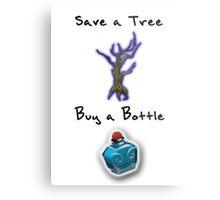 Save a Tree, Buy a Bottle - Print - DOTA2 Metal Print