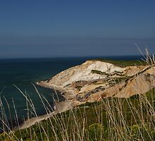Cliffs of Martha's Vineyard by RCRimagery
