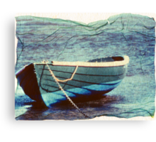 this boat has lift off Canvas Print