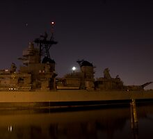 USS Battleship Wisconsin by solstone