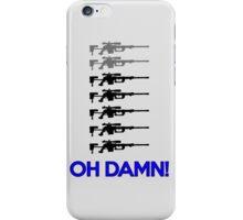 7 OS , Oh Damn ! iPhone Case/Skin