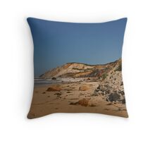Gay Head Beach Throw Pillow