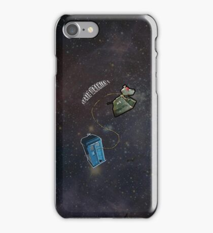 Space Walkies! iPhone Case/Skin