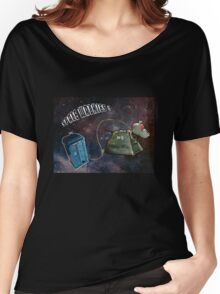 Space Walkies! Women's Relaxed Fit T-Shirt