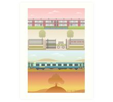 A 'Wes Anderson' Collection Poster Print 2 Art Print