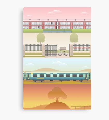 A 'Wes Anderson' Collection Poster Print 2 Canvas Print