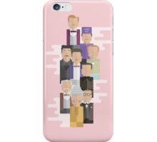 The Grand Budapest Hotel: Character Print iPhone Case/Skin