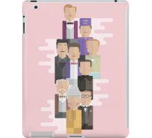 The Grand Budapest Hotel: Character Print iPad Case/Skin