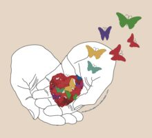 The Heart is like a Butterfly by Antonio  Luppino