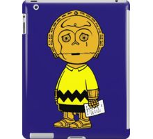 Charlie Brown Star Wars iPad Case/Skin