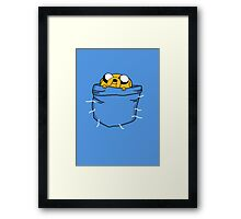 Pocket Jake Framed Print