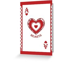 Ace of Hearts Card - Hylian Court Legend of Zelda Greeting Card