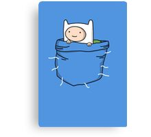 Pocket Finn Canvas Print