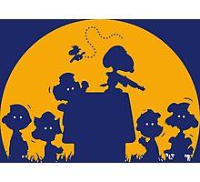 Peanuts Zombie Photographic Print