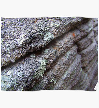 """""""Sandstone Layers"""" Poster"""