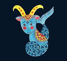Blue Capricorn by haidishabrina