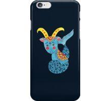 Blue Capricorn iPhone Case/Skin