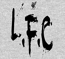 Liverpool FC (Black) Unisex T-Shirt