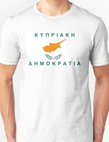 flag of cyprus Unisex T-Shirt